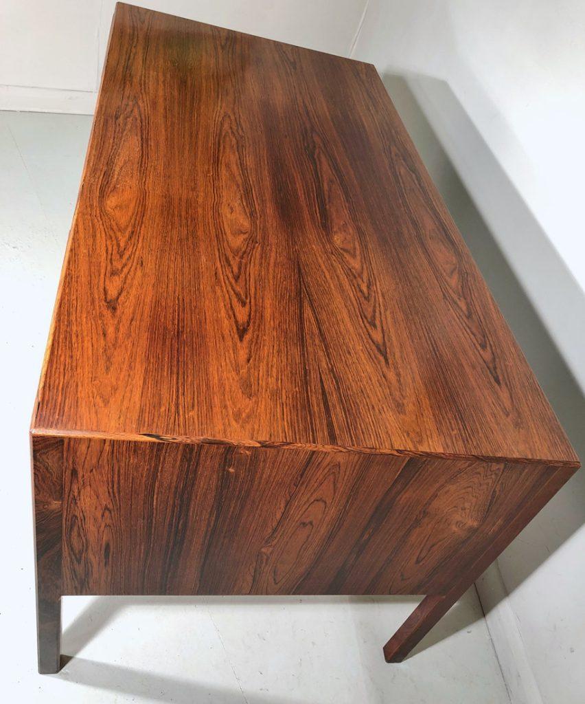 Ole Wanscher Danish rosewood desk - mid century modern