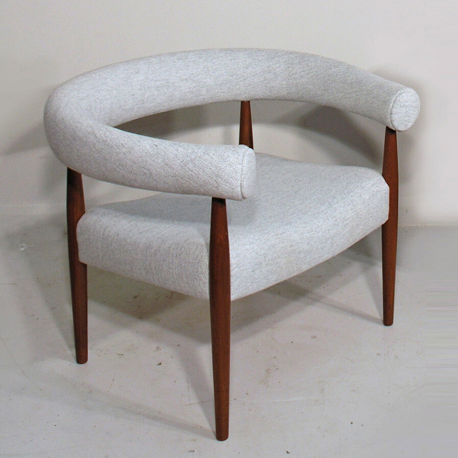 mid century upholstered furniture