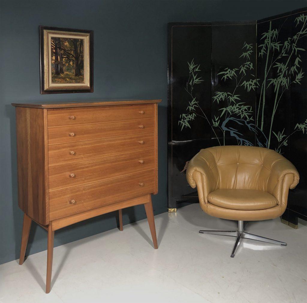 Overman Pod swivel chair 1960s