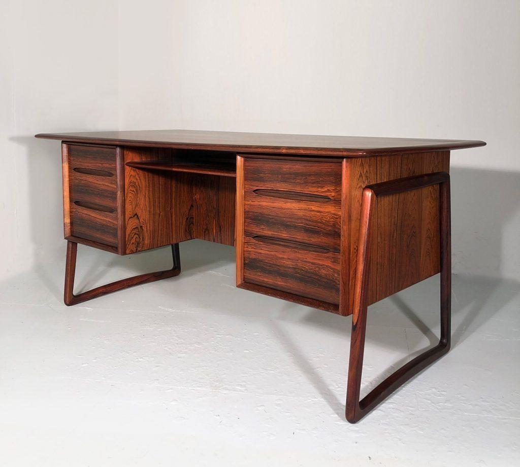 Svend Madsen rosewood desk