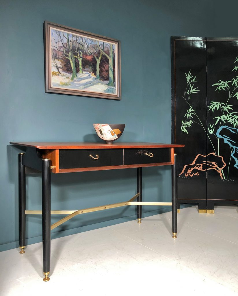 G Plan Tola Black console table
