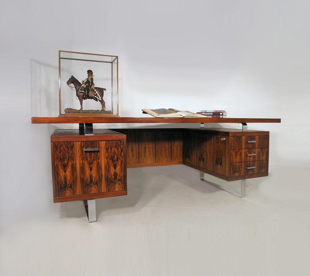 Jorgen Pedersen rosewood Danish desk