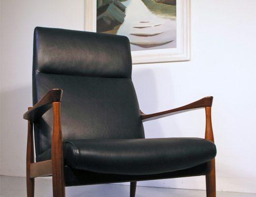 Kofod Larsen teak armchair