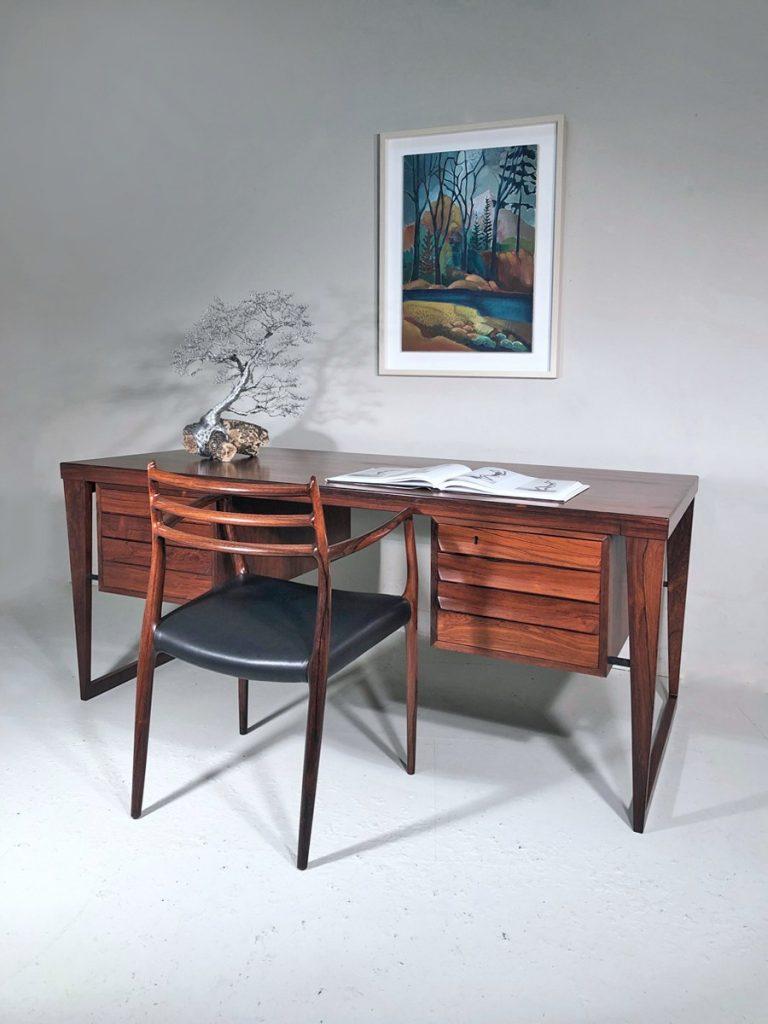 Kai Kristiansen Danish rosewood desk