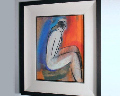 Mary Stork original pastel