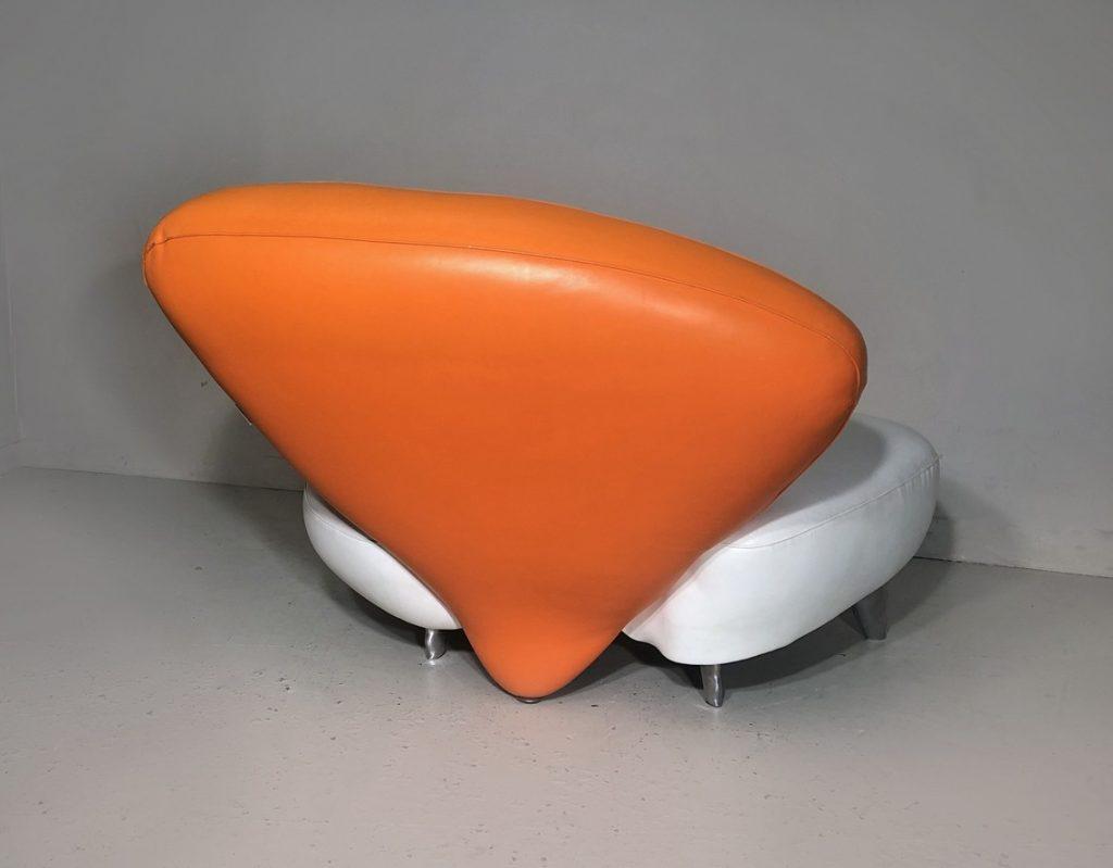 Poltromec leather chair