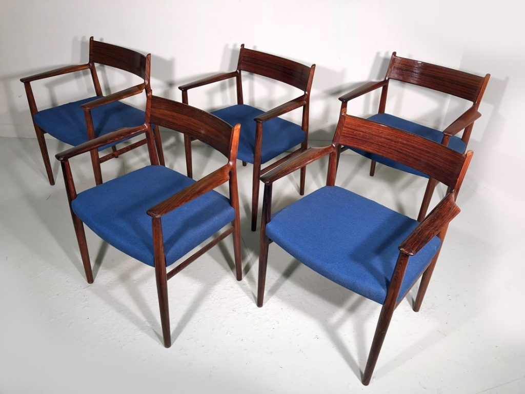 Arne Vodder rosewood chairs
