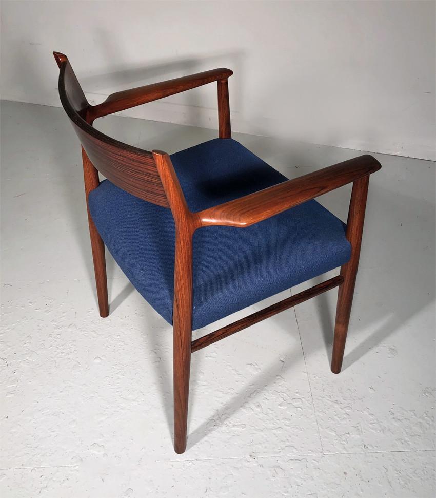Arne Vodder rosewood chairs model 418 - Sibast