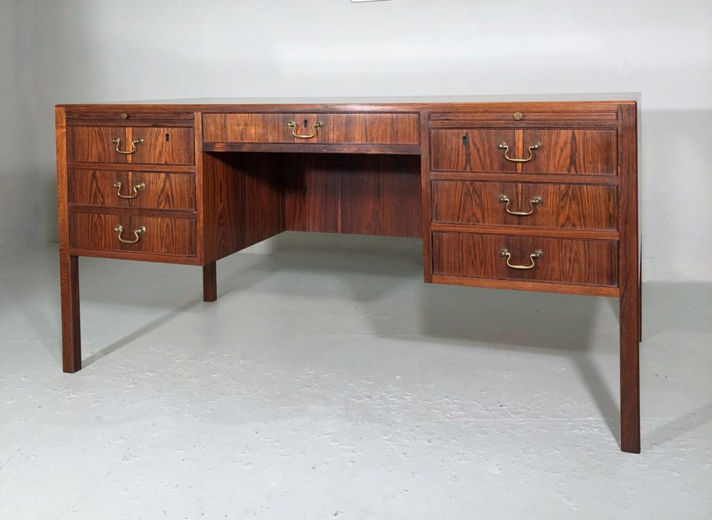 Ole Wanscher Danish rosewood desk