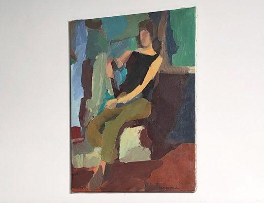 Jorgen H M Bystrom original oil painting