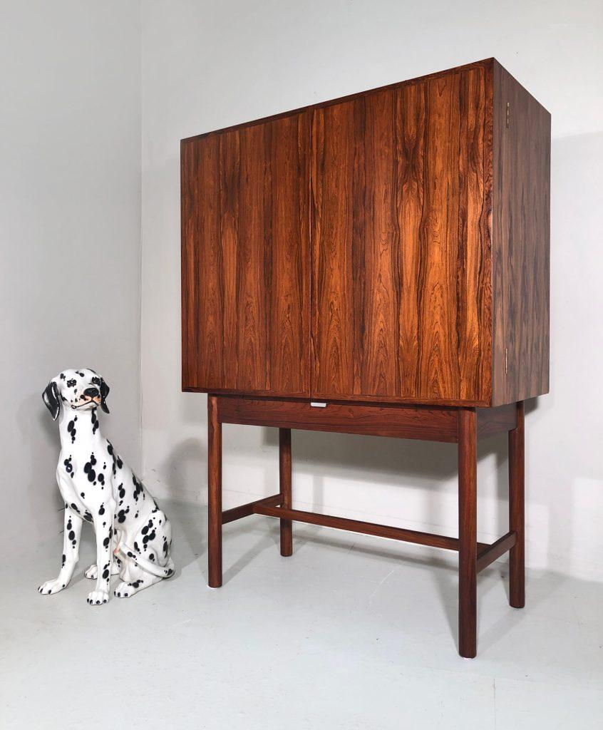 Robert Heritage rosewood cocktail cabinet