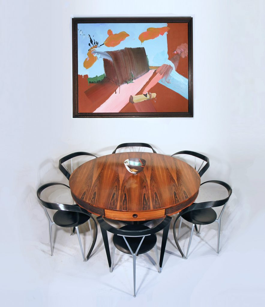 Robert Heritage drum table