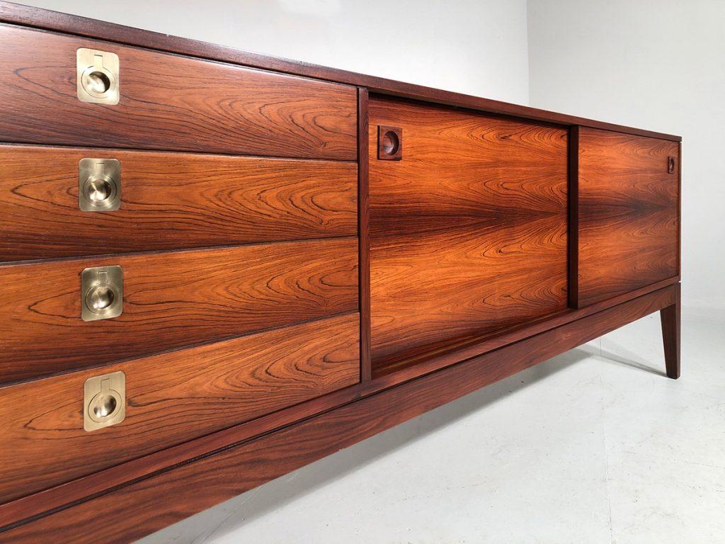 Robert Heritage rosewood Dorrington sideboard